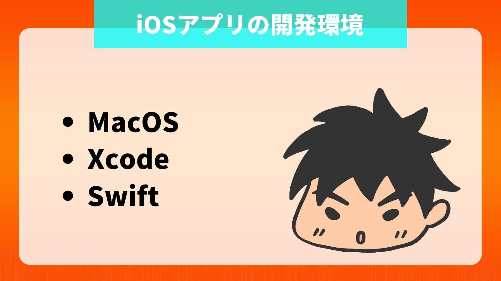 iOSアプリの開発環境